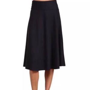 Patagonia Morning Glory gold over midi skirt